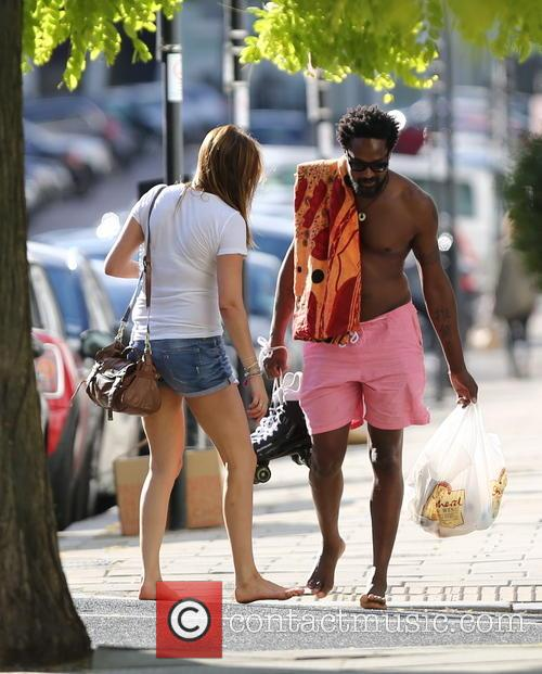 Lisa Snowdon and Adereti Monney 3