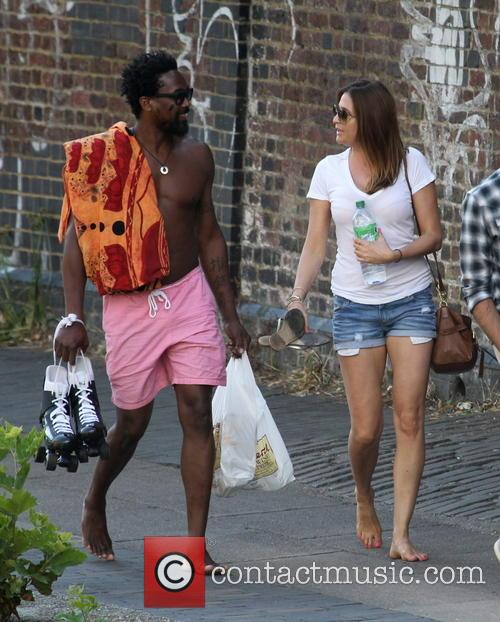 Lisa Snowdon and Adereti Monney 7