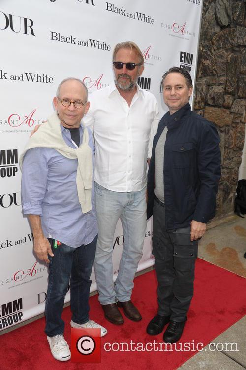 Bob Balaban, Kevin Costner, and Jason Binn, UA Cinema