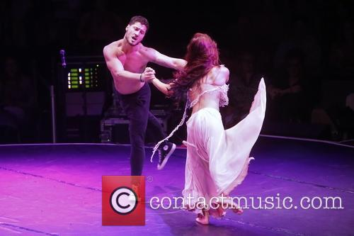 Sharna Burgess and Val Chmerkovskiy 2
