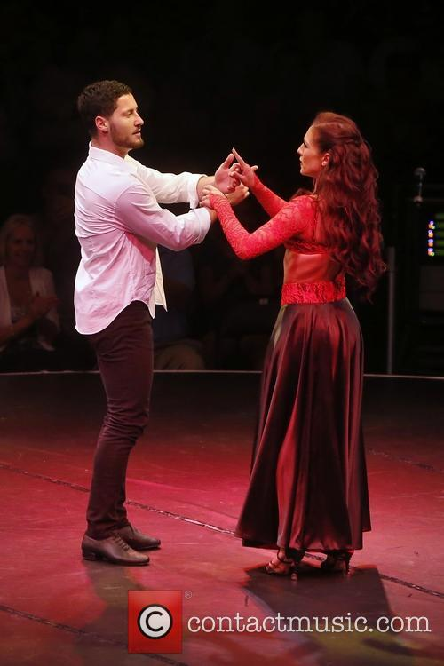 Val Chmerkovskiy and Sharna Burgess 2