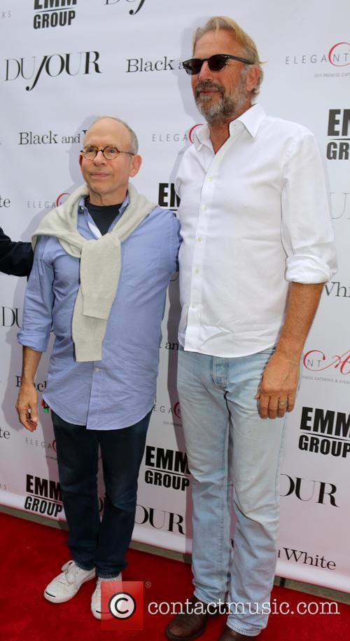 Bob Balaban and Kevin Costner 5