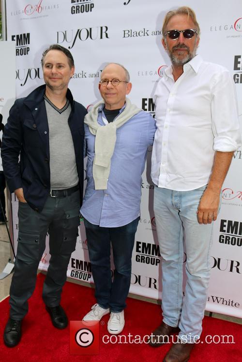 Jason Binn, Bob Balaban and Kevin Costner 7