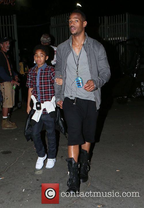 Celebrities attend the Beyonce and Jay Z concert