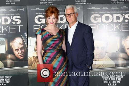 Christina Hendricks and John Slattery 3
