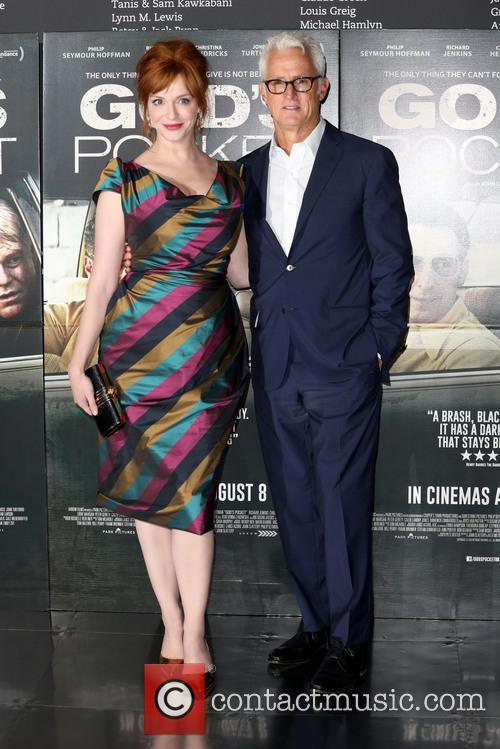 Christina Hendricks and John Slattery 4