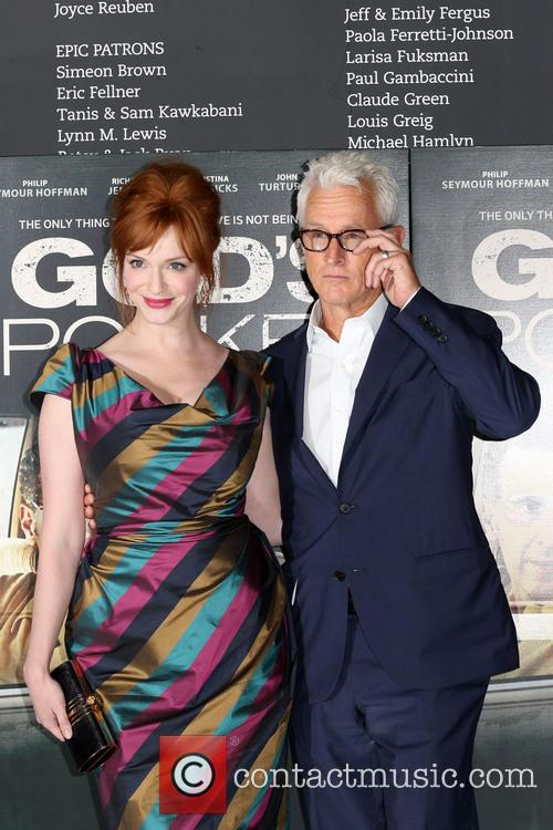Christina Hendricks and John Slattery 7