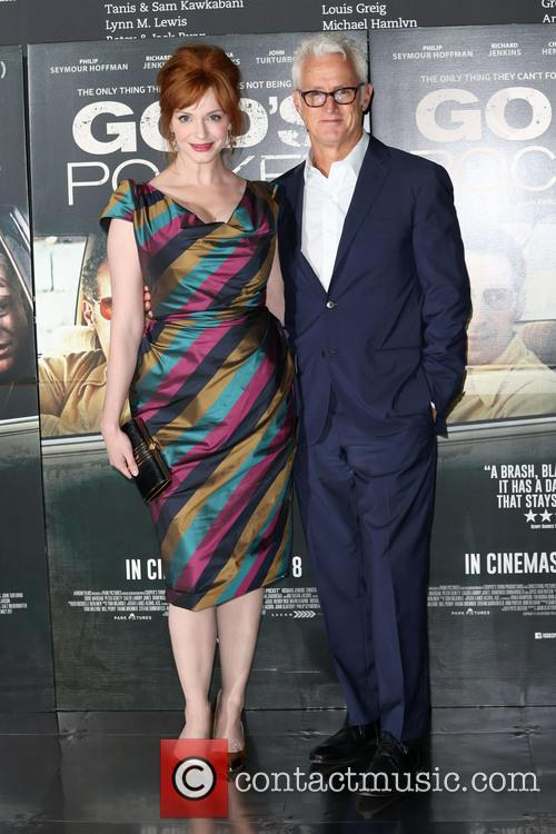 Christina Hendricks and John Slattery 11