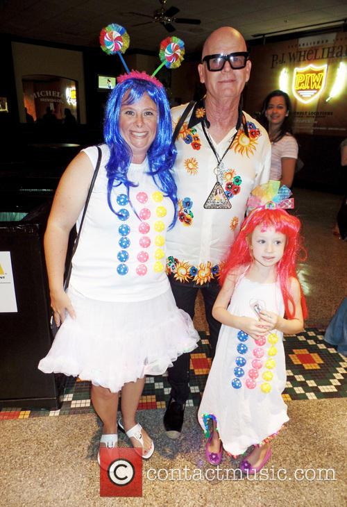 Katy Perry's father Keith Hudson poses for pictures...