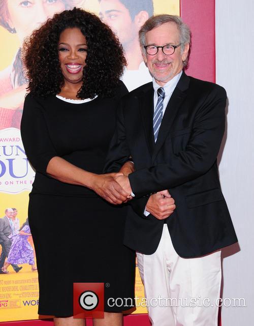 Oprah Winfrey and Steven Spielberg 4
