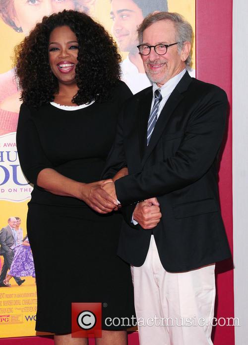 Oprah Winfrey and Steven Spielberg 6
