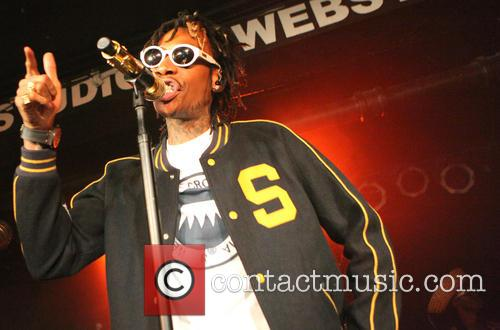 Wiz Khalifa performs live