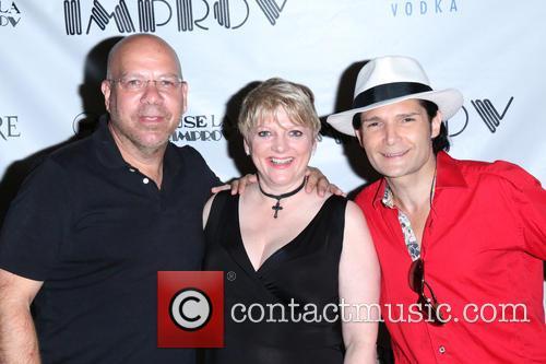 Jason Stuart, Alison Arngrim and Corey Feldman