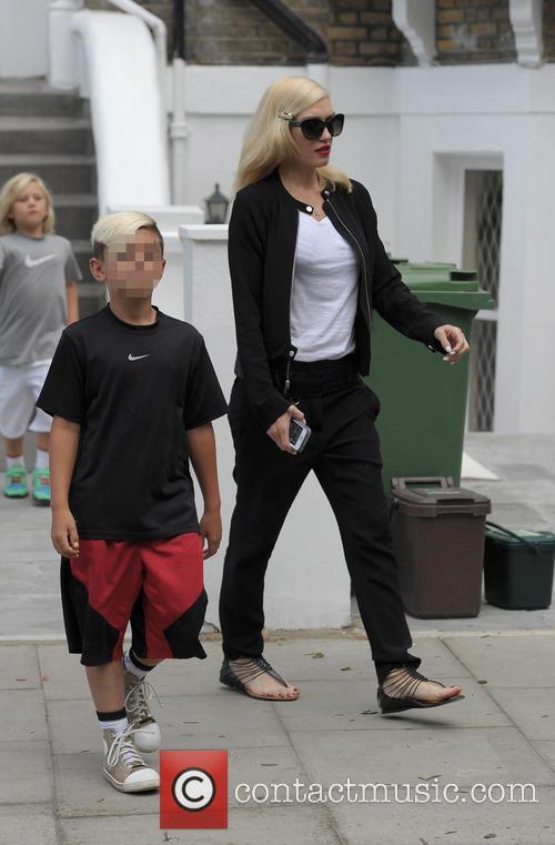 Kingston Rossdale and Gwen Stefani 2