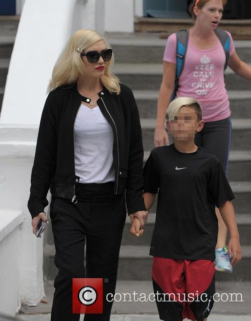 Kingston Rossdale and Gwen Stefani 4