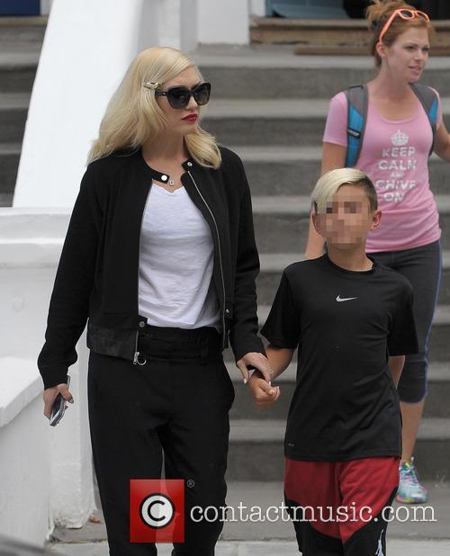 Kingston Rossdale and Gwen Stefani 5