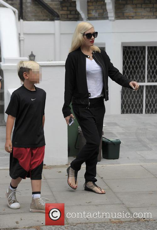 Kingston Rossdale and Gwen Stefani 9