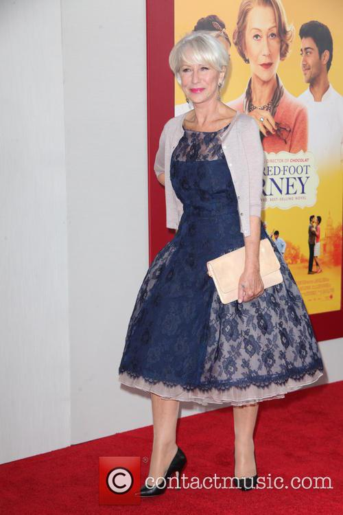 helen mirren the hundred foot journey premiere 4313657