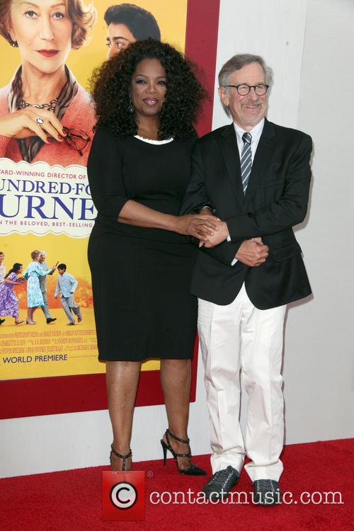 Oprah Winfrey and Steven Spielberg 12