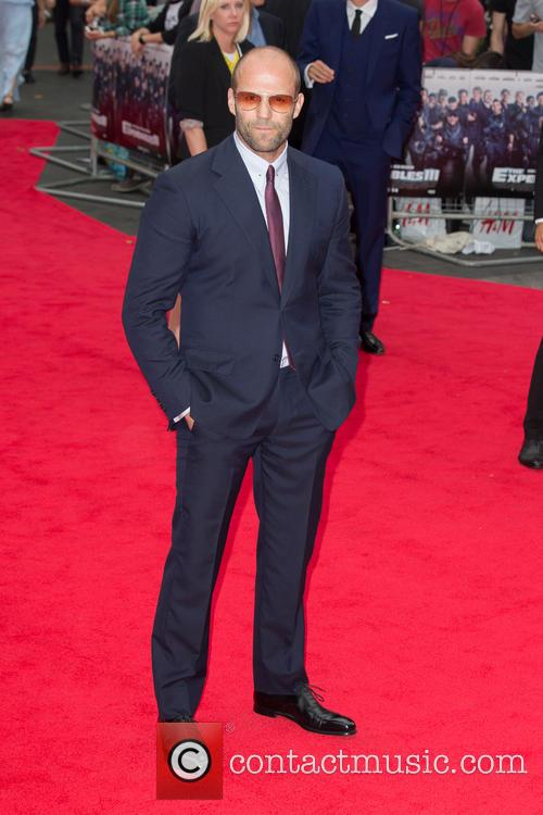 949abc251f6 The Expendables 3 World Premiere held at the Odeon Leicester Square -  Arrivals. Jason Statham 2