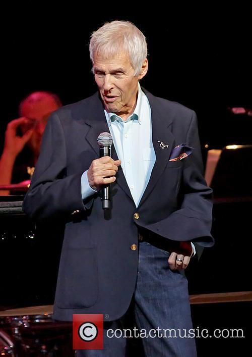 Burt Bacharach performing in concert