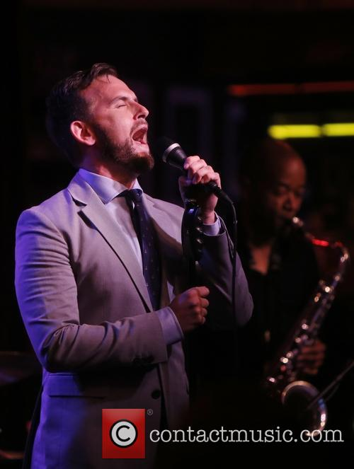 Daniel Reichard Broadway at Birdland concert