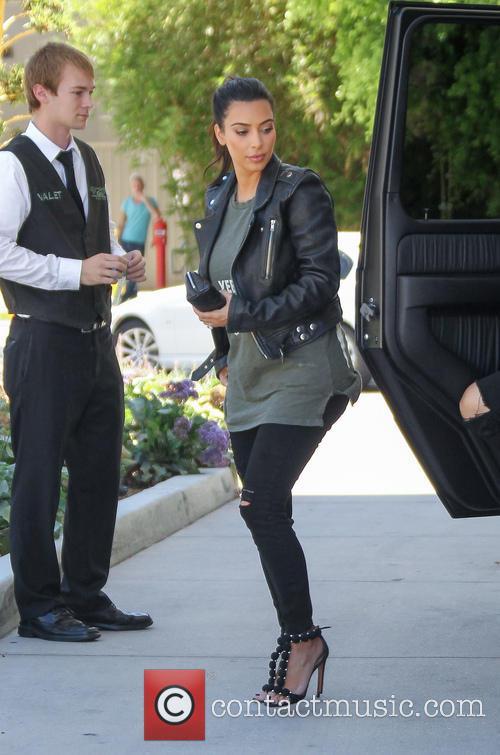 Kim Kardashian goes shopping at Topanga Mall