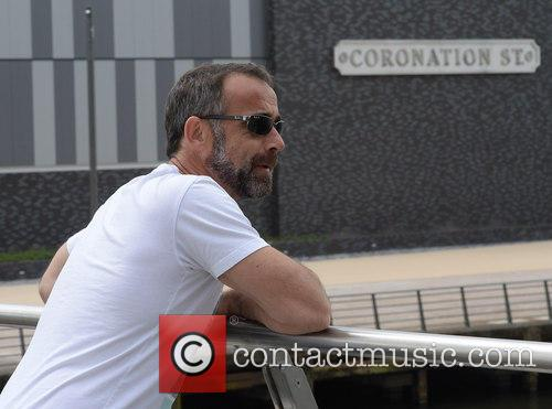 Michael Le Vell at Media City Manchester
