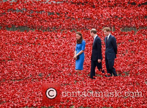Prince William, William Duke of Cambridge, Catherine Duchess of Cambridge, Kate Middleton and Prince Harry 3