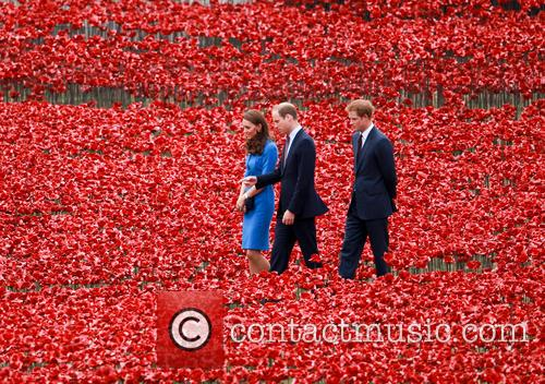 Prince William, William Duke of Cambridge, Catherine Duchess of Cambridge, Kate Middleton, Prince Harry, Tower of London