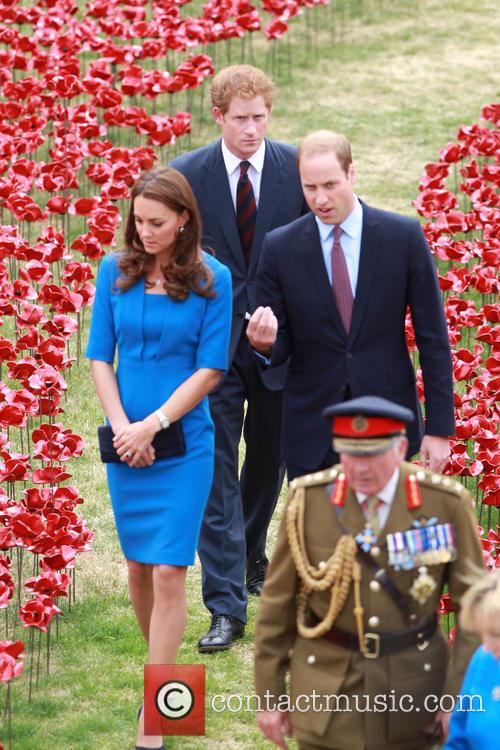 Prince William, Duke Of Cambridge, Catherine, Duchess Of Cambridge and Prince Harry 7