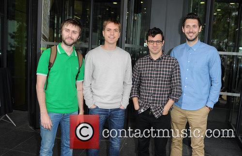 James Buckley, Joe Thomas, Simon Bird and Blake Harrison 3