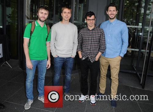 James Buckley, Joe Thomas, Simon Bird and Blake Harrison 5