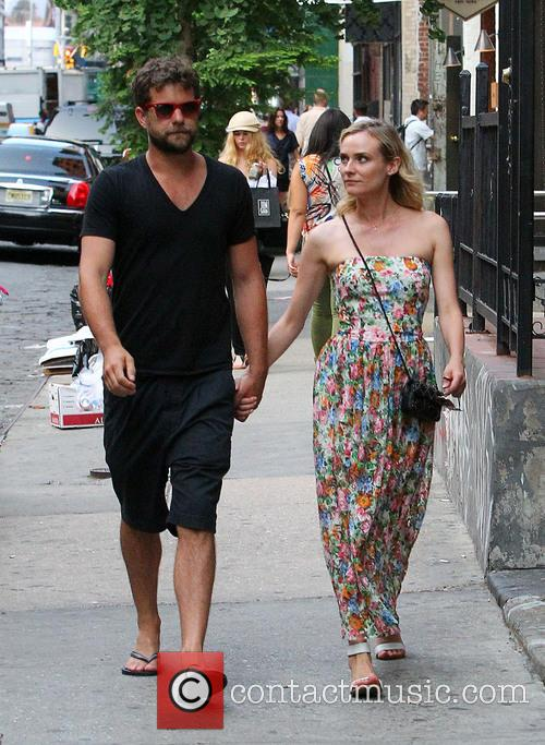 Joshua Jackson and Diane Kruger out and about
