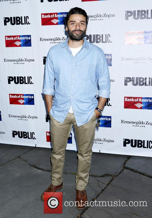 oscar isaac opening night of king lear 4314928