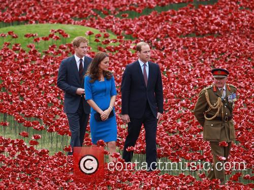 Prince William, William Duke of Cambridge, Catherine Duchess of Cambridge, Kate Middleton and Prince Harry 8