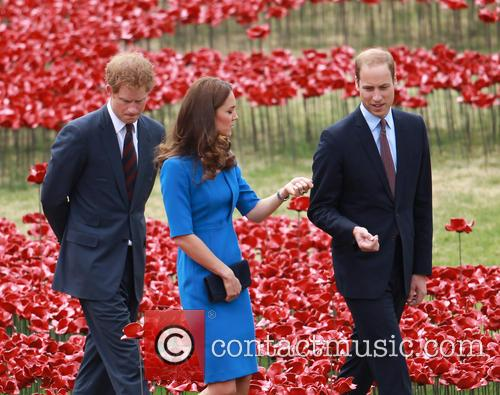 Prince William, William Duke of Cambridge, Catherine Duchess of Cambridge, Kate Middleton and Prince Harry 16