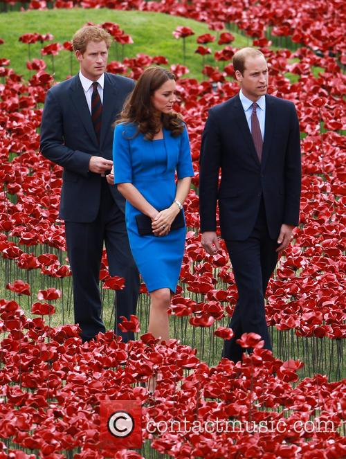 Prince William, William Duke Of Cambridge, Catherine Duchess Of Cambridge, Kate Middleton and Prince Harry 1