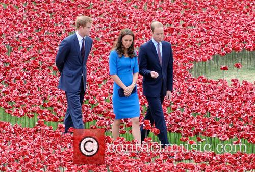 Kate Middleton, Prince William, Prince Harry, Catherine and Duchess Of Cambridge 8