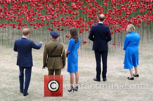 Kate Middleton, Prince William, Prince Harry, Sir Richard Dannatt, Catherine and Duchess Of Cambridge 4