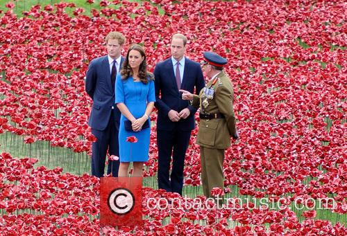Kate Middleton, Prince William, Prince Harry, Sir Richard Dannatt, Catherine and Duchess Of Cambridge 9