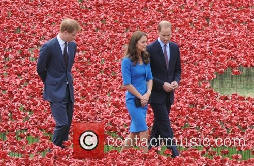 British Royals visit the 'Blood Swept Lands And...