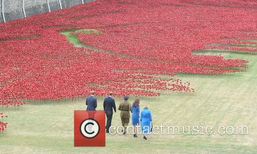 British Royals visit the 'Blood Swept Lands And...