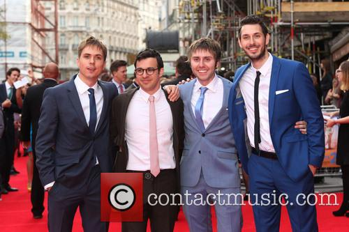 Joe Thomas, Simon Bird, James Buckley and Blake Harrison 2