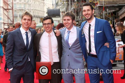 Joe Thomas, Simon Bird, James Buckley and Blake Harrison 1