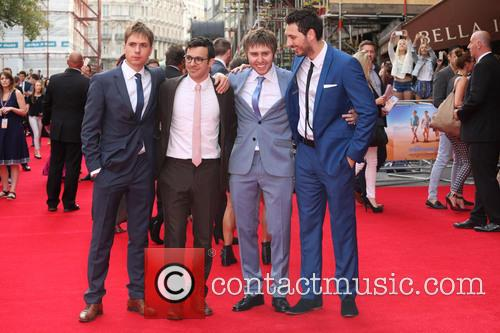 Joe Thomas, Simon Bird, James Buckley and Blake Harrison 4