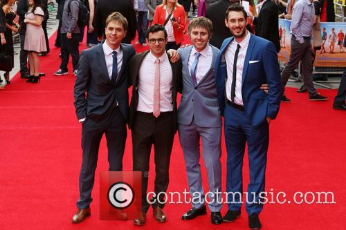 Joe Thomas, Simon Bird, James Buckley and Blake Harrison 5