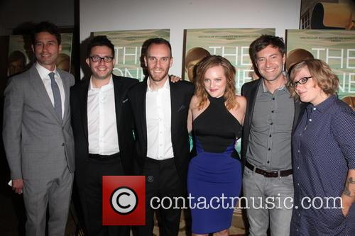 Elisabeth Moss, (l-r) Radius-twc Co-president Jason Janego, Actor Justin Lader, Director Charlie Mcdowell, Mark Duplass and Mel Eslyn 5