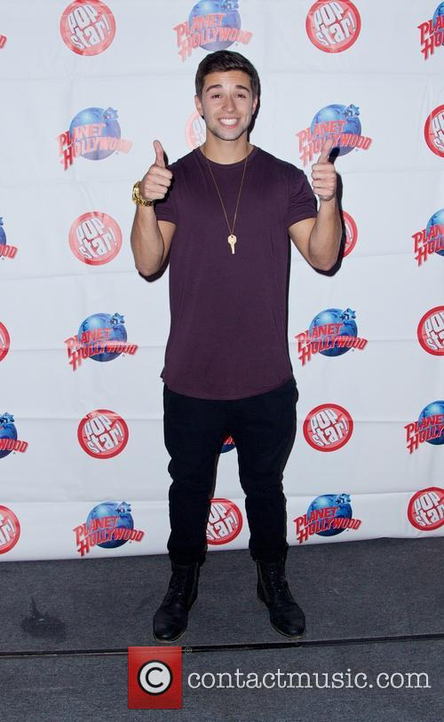 Jake Miller at Planet Hollywood Times Square