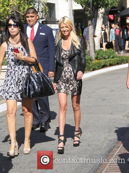 Tara Reid goes shopping at The Grove